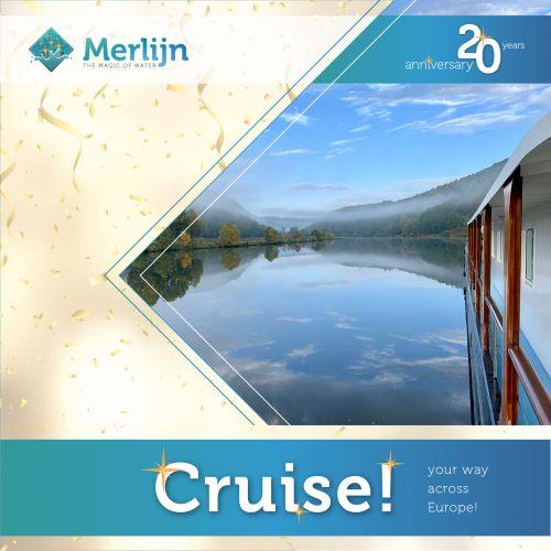 Die Merlijn hat den umfangreichsten Fahrplan und fährt ab 2022 auch auf der Blauen Donau!