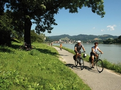 Danube biking