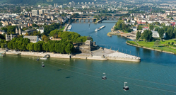 Koblenz, Deatsche Eck