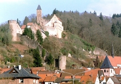 Hirschhorn Castle