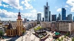 Frankfurt main square