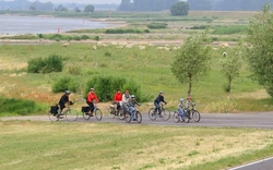 Bike path 'tour Brandenburg