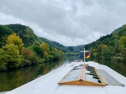 Merlijn on the Saar river