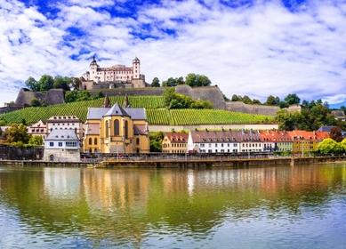 Bayerische Main-Fluss-Tour in Deutschland