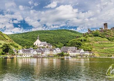 Rhein, Mosel & Saar 3 Flussen reise in Deutschland