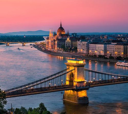 Merlijn goes to the Blue Danube!