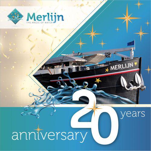 Merlijn verspreid haar magie al 20 jaar!