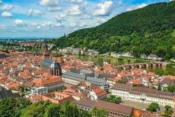 Heidelberg & Neckar river