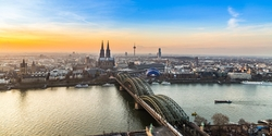 Cologne in the morning
