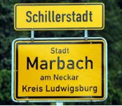 Marbach, Schillerstadt