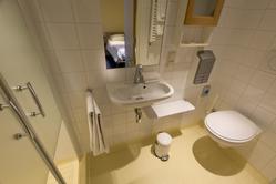 2-persoons deluxe kamer, badkamer