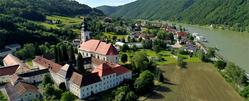 Engelhartszell Drone view