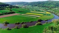 Weser-Hills landscape
