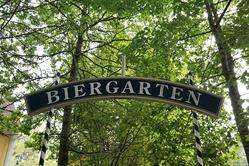 Erlangen Beergarden sign