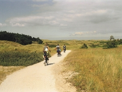 Extended bike tour: Dunes landscape