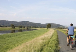 Weser cycling route