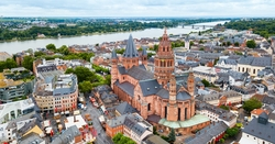Mainz droneview