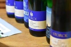 Wine tasting at Storck winery