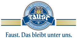Faust brewery logo