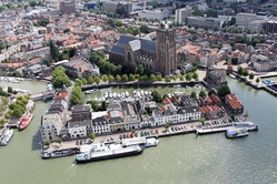 Dordrecht drone view