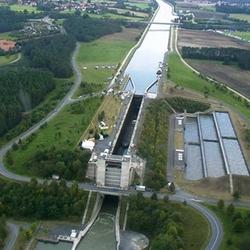 Lock Leerstetten 25 meter high