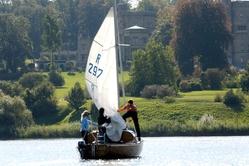 Potsdam sailingboat