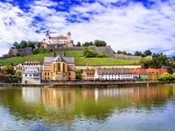 Wurzburg residence & Main river