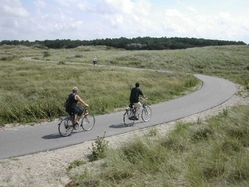 Northern Holland bike path