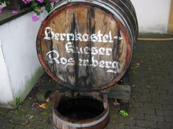 Bernkastel Wine barrel
