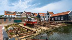 Urk old shipyard