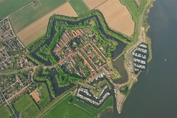 Willemstad droneview
