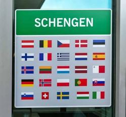 Schengen sign