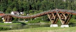 Wooden bridge from Essing