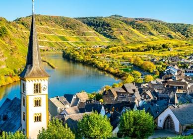 4 German rivers tour