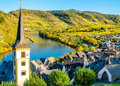 Rhine, Moselle & Saar 3-river tour in Germany